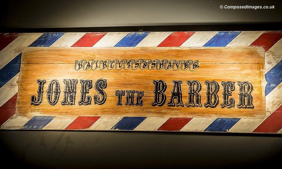 Jones The Barber - Castle Arcade